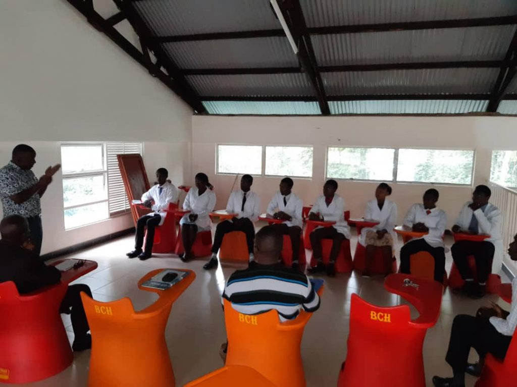 Uganda Allied Health Professionals Council briefs pioneer students