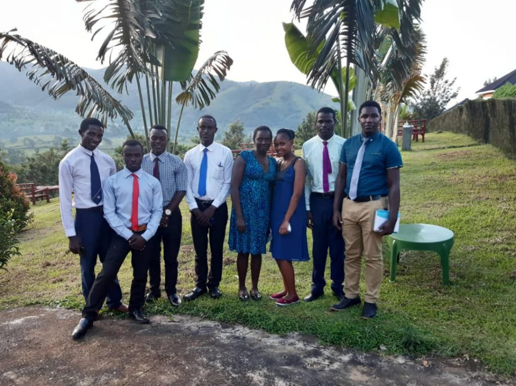 Clinical Medicine students hosted for dinner at Crested Crane Hotel, Bwindi